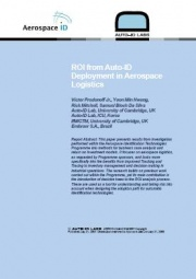 ROI from Auto-ID Deployment in Aerospace Logistics (pdf)